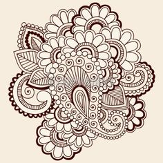 Mehndi is the application of henna as a temporary form of skin decoration in India