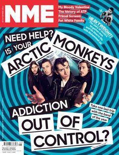 NME Magazine cover, Arctic Monkeys, November 30th 2013