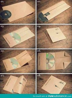 DIY CD cover-good to know!
