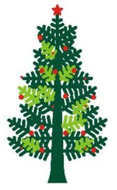 arbol de navidad de vinilo verde