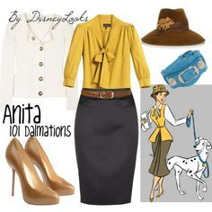 roger and anita costume - Google Search