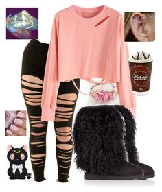 """""""Untitled #477"""" by malachisbabygirl ❤ liked on Polyvore featuring UGG Australia"""