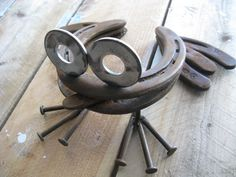 Horseshoe Frog by willcapps on Etsy, $30.00