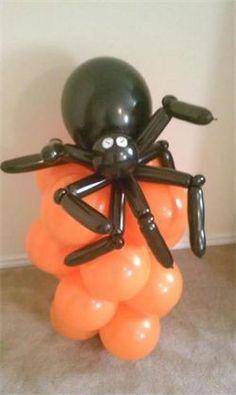 Halloween balloon art