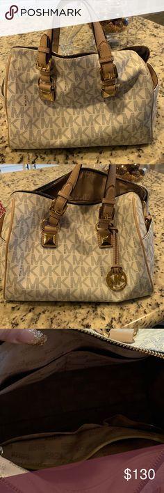 2f85b99969fa MK handbag MK handbag slightly used good condition looks new Michael Kors  Bags Satchels Mk Handbags