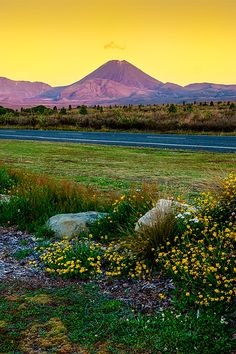 Made a UNESCO World Heritage Site in 1990 Tongariro National Park is the oldest national park in New Zealand #NZ #UNESCO