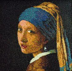 Jellybean Girl With a Pearl Earring