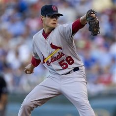 Starting pitcher Joe Kelly  one of many wins to come for the new guy  6-22-12