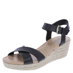 f6a1f229961d Give your casual style a sporty touch with the Sporty mid-wedge sling from  Brash