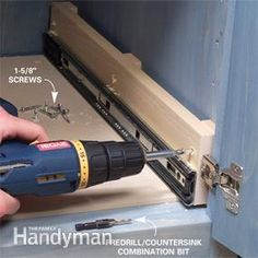 Build simple rollout shelves and bring everything in your cabinets within easy reach diy kitchen projects Organize Kitchen Storage With Kitchen Cabinet Rollouts Kitchen Base Cabinets, Kitchen Cabinet Storage, Diy Cabinets, Kitchen Redo, Kitchen Organization, Kitchen Design, Organizing, Kitchen Makeovers, Shaker Kitchen