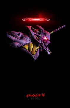 Rebuild of Evangelion 3.0 Movie Poster - Unit 01 by studiomuku on deviantART