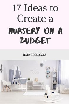Simple Nursery on a Budget - 17 ideas to create a on a What are the baby registry items you don't ne - Baby Closet Storage, Girls Closet Organization, Baby Room Closet, Nursery Storage, Closet Ideas, Nursery Modern, Nursery Neutral, Modern Nurseries, Koala Nursery