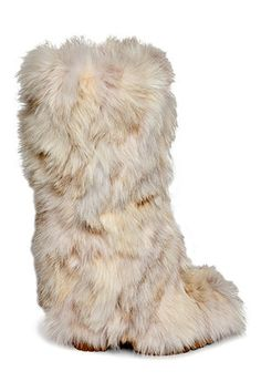 Furry boots were sweet!