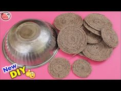 Home decoration is one of the most important elements that help you to define the… Art And Craft Videos, Diy Arts And Crafts, Handmade Crafts, Diy Crafts, Jute Crafts, Room Organization, Life Hacks, Easy Diy, Make It Yourself