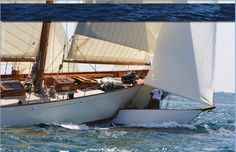Amorita, the classic3 #Herreshoff New York Thirty is re-launced in our July / Aug 2011 issue http://www.classicyachtmag.com/back_issues.htm