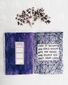 """noorunnahar: """" even if you wanted you could never hate the things and people you once truly loved // art journal entry // follow me on Instagram """""""