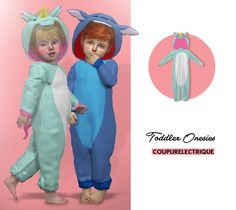 TODDLER ONESIES | CE - SIMS 4 CC https://presentbaby.com