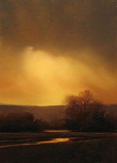 """Painting by Renato Muccillo - """"The Soft Break"""""""