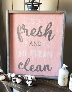 So Fresh and So Clean 18×21 #arworkshop www.arworkshop.com