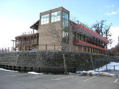 Hotel at Lake Kvareli, Kakheti.