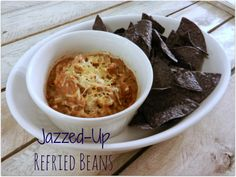 A Busy Mom's Slow Cooker Adventures: Jazzed-Up Refried Bean - Gluten-Free