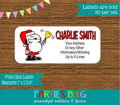 25 best personalized christmas holiday return address labels images