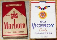Candy Cigarettes. Can you believe we ate these and people thought it was ok?!? by rene