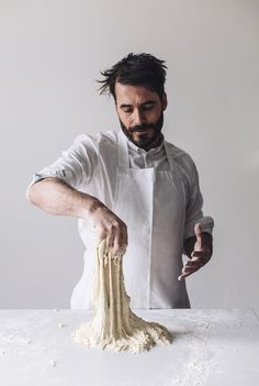 Sourdough / with Tom Herbert of Hobbs House Bakery. photo by Robbie Lawrence via Cereal Magazine & These Tings Take Time