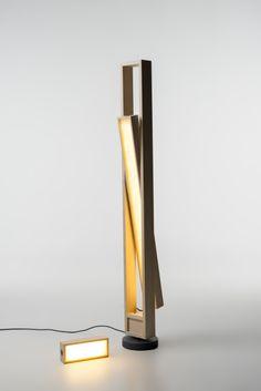 """Tilt"" lamp by Caroline Langfeldt Carlsen Stockholm furniture- and light fair 2013"