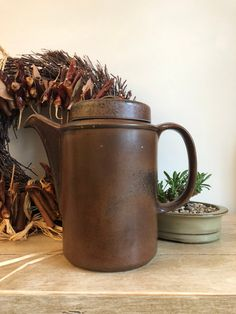Nordic Design, Vintage Coffee, Autumnal, Moscow Mule Mugs, Finland, Stoneware, Mid-century Modern, Vintage Items, Mid Century