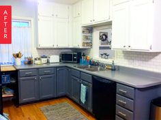Before & After: A Fresh Kitchen Makeover For Under $500 — From the Archives: Greatest Hits | Apartment Therapy