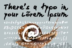 Loremipsum Free Font is a wonderful handwriting font that will give you the strong characteristic of personal touch. It suitable for everything; from blog header to branding, from greeting cards to t-shirt design, or whatever you think it may suits.
