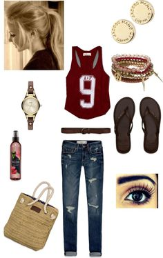 """""""A A cute day"""" by marthazeidan ❤ liked on Polyvore"""