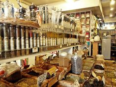 Paris spice shop
