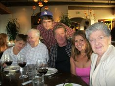 Glenn Frey and family