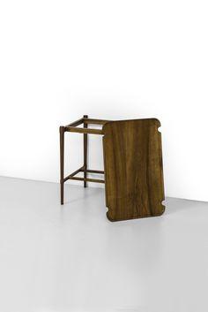 Peter Hvidt side / tray table model 1775 at Studio Schalling