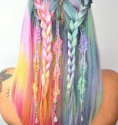 G Y P S Y • W O N D E R !! Artistry via @caitlinfordhair! -Perfect hair…