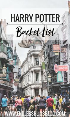 Harry Potter fans have managed to keep the magic of Harry Potter alive by creating new and fun ways to experience all things Harry Potter. This Harry Potter bucket list is the ultimate to-do list for all Harry Potter fans.
