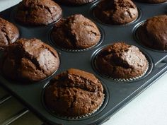 czekoladowe muffiny Sweets, Cook, Drink Recipes, Breakfast, Cupcake, Per Diem, Cooking, Morning Coffee, Good Stocking Stuffers