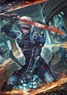 DigiWorld — Raiden, Metal Gear Rising: Revengeance