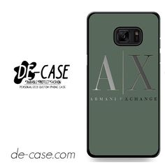 Armani Exchange DEAL-958 Samsung Phonecase Cover For Samsung Galaxy Note 7