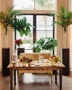 Tropical Chic Miami Wedding by Elaine Palladino - Southern Weddings