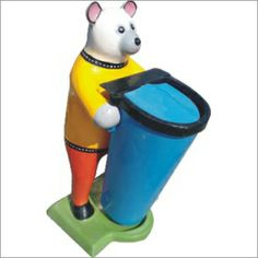 This is a funny dustbin and mostly people like this type dustbin.