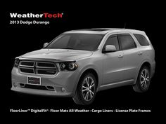 The 2013 #Dodge Durango is the #WeatherTech Vehicle of the Month for September! Get your #Durango set for fall with our great line of custom-fit, automotive products for your specific SUV! http://www.weathertech.com/dodge/2013/durango/