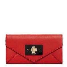 Red wallet Kate Spade