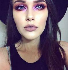 Purple Matte lip
