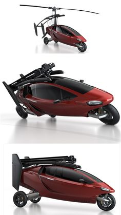 PAL-V ONE - Flying Car.   FLY OR DRIVE !!