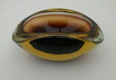 Vintage murano free form sommerso art glass ash tray goede mid century modern FOR SALE https://www.etsy.com/listing/200356474/vintage-italian-murano-geode-ash-tray
