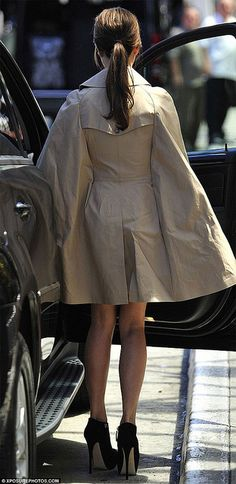 {style inspiration | at the office : the cape trench} by {this is glamorous}, via Flickr