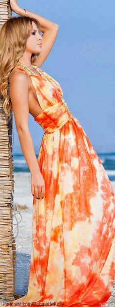 Maxi Dress summer for summer summer outfits Beauty And Fashion, Love Fashion, Womens Fashion, Maxi Dress Summer, Summer Dresses, Summer Fashion Trends, Spring Summer Fashion, Cute Dresses, Beautiful Dresses